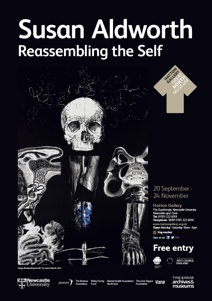 <strong>Reassembling the Self</strong>, Susan Alworth, Poster.
